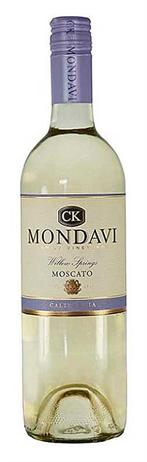 CK Mondavi Moscato Willow Springs